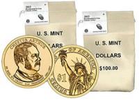 Chester-Arthur-Presidential-Coin-Bags