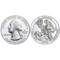 2012 America the Beautiful Five Ounce Silver Uncirculated Coin™ – El Yunque National Forest, Puerto Rico