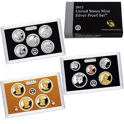 united states mint silver proof set